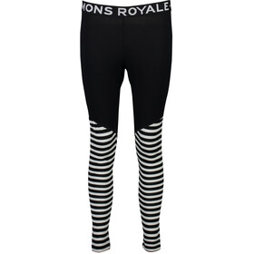 Mons Royale W's Christy Leggings Black/Thick Stripe